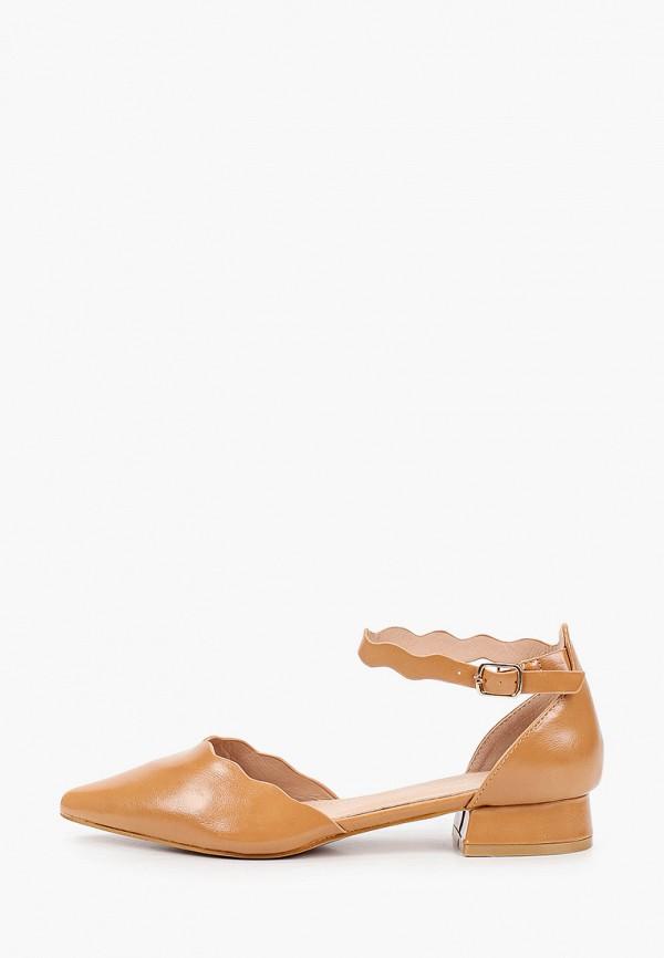 женские туфли mellisa, коричневые