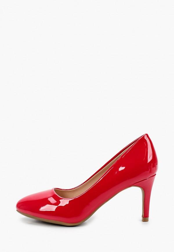 женские туфли-лодочки la bottine souriante, красные