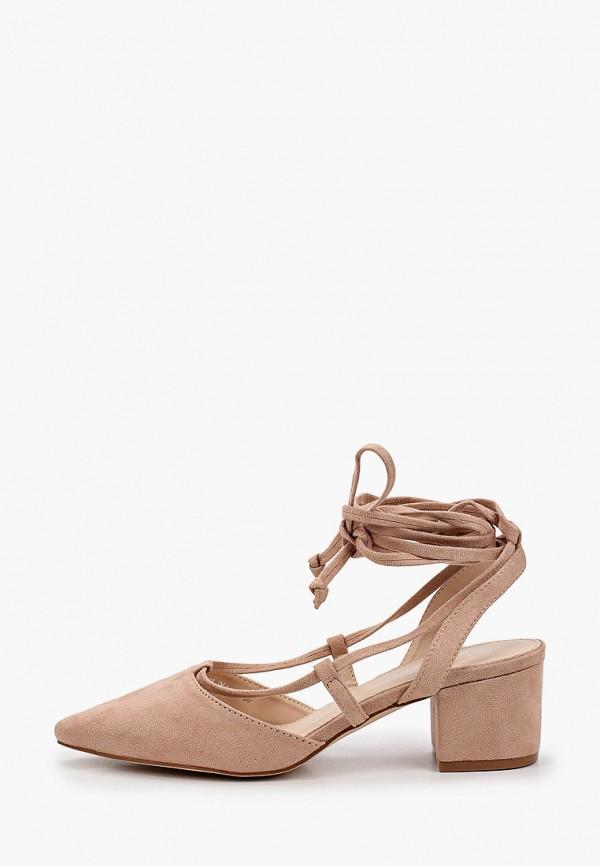 женские туфли la bottine souriante, бежевые