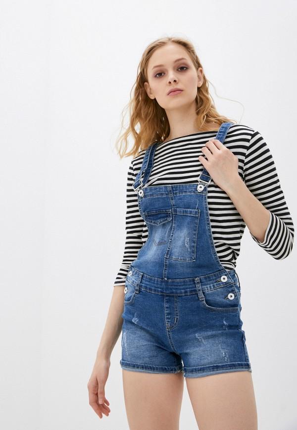Комбинезон джинсовый Adrixx Adrixx NR09-CZP2126 синий фото