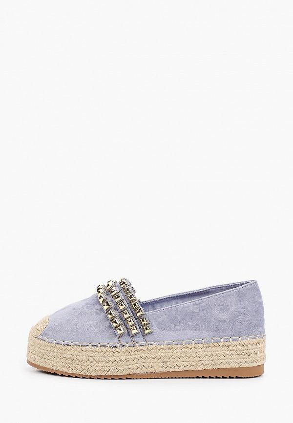 женские эспадрильи ideal shoes, фиолетовые