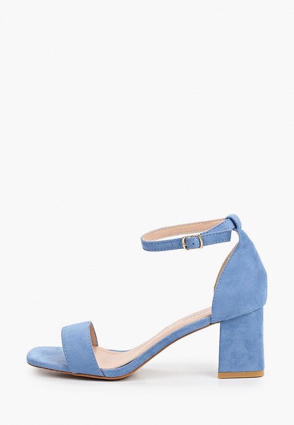 женские босоножки sweet shoes, голубые