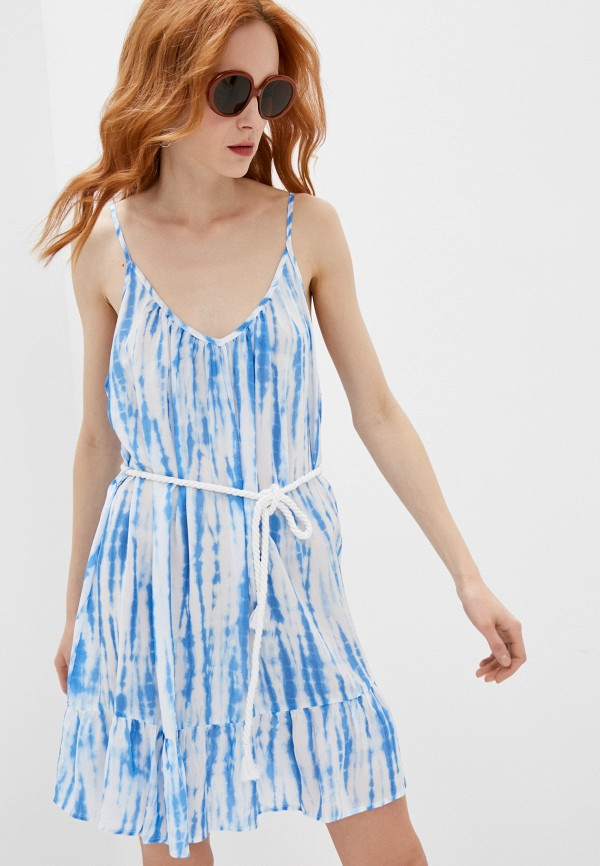 женское платье michael kors, голубое