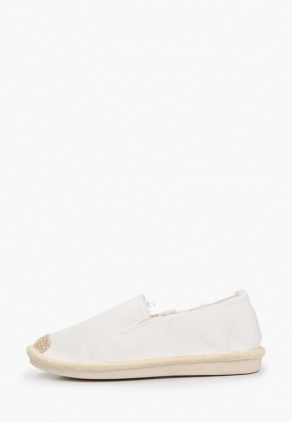 женские эспадрильи super mode, белые
