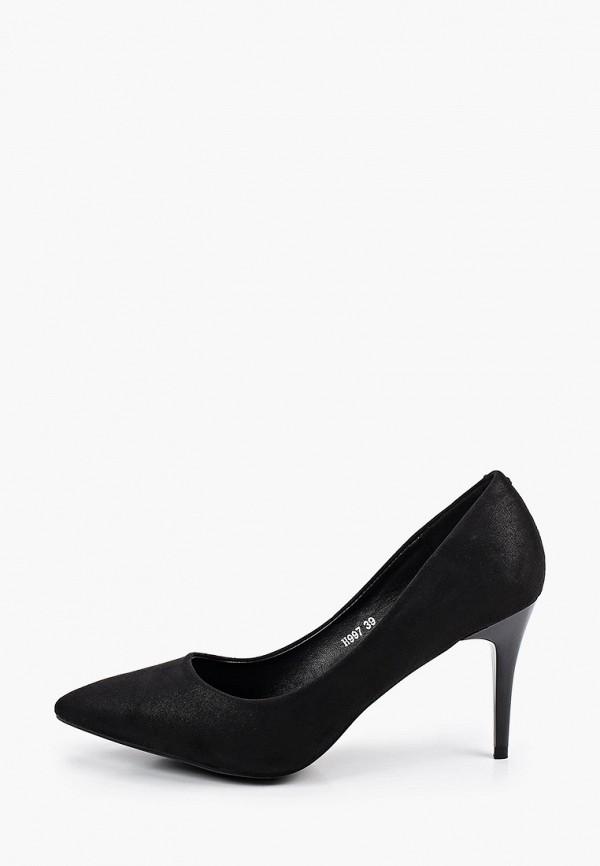 женские туфли-лодочки exquily, черные
