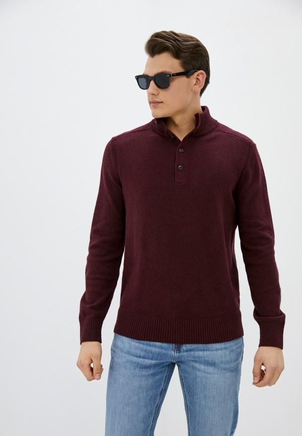 мужской свитер gap, бордовый