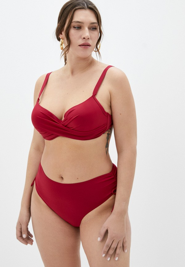 женский купальник rene santi, красный