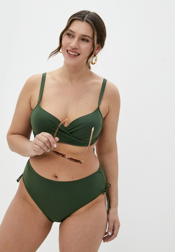 женский купальник rene santi, хаки