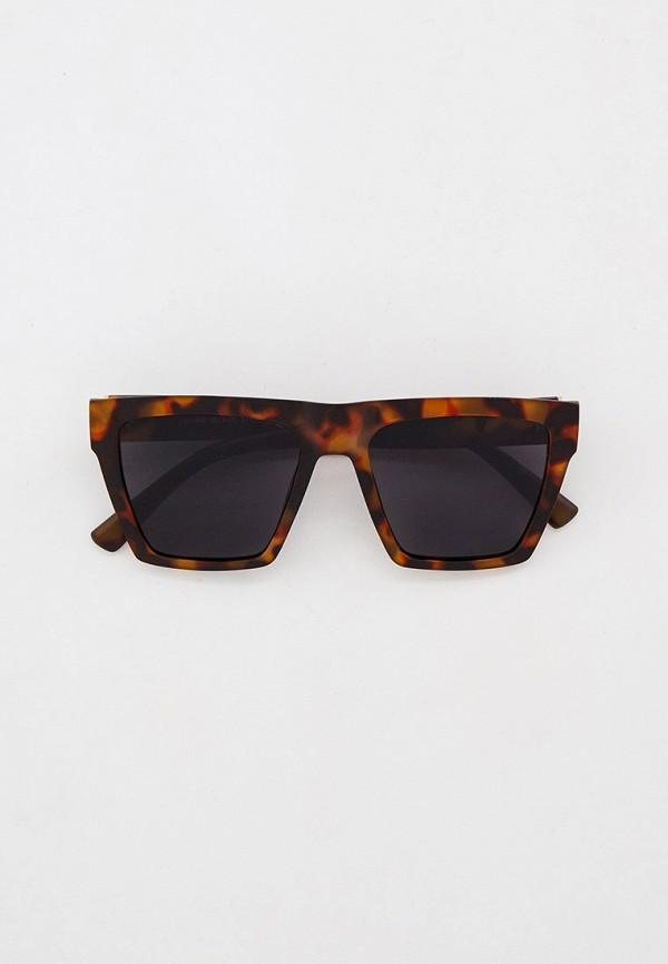 мужские солнцезащитные очки river island, коричневые