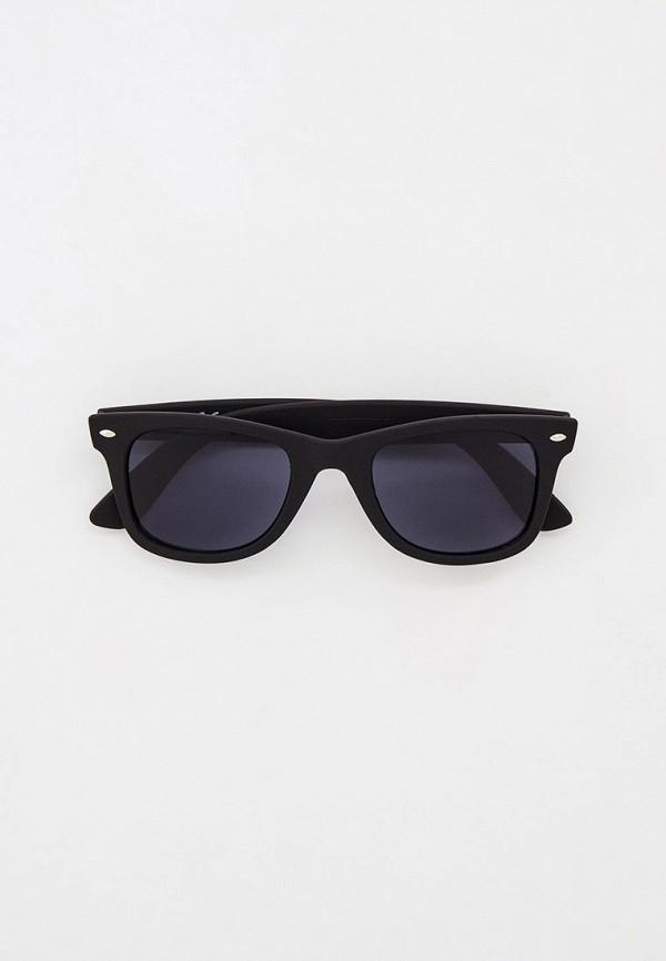 мужские солнцезащитные очки river island, черные