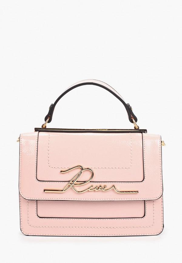 женская сумка river island, розовая