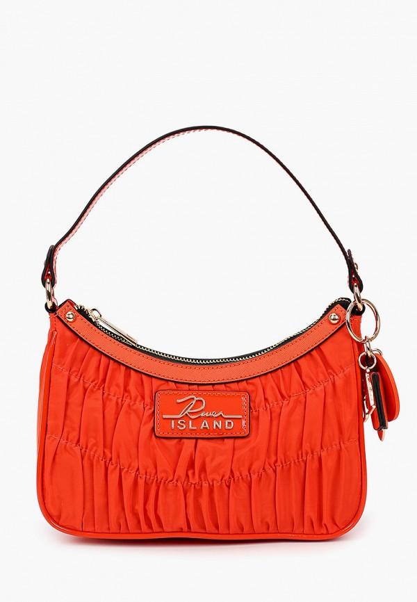 женская сумка river island, красная
