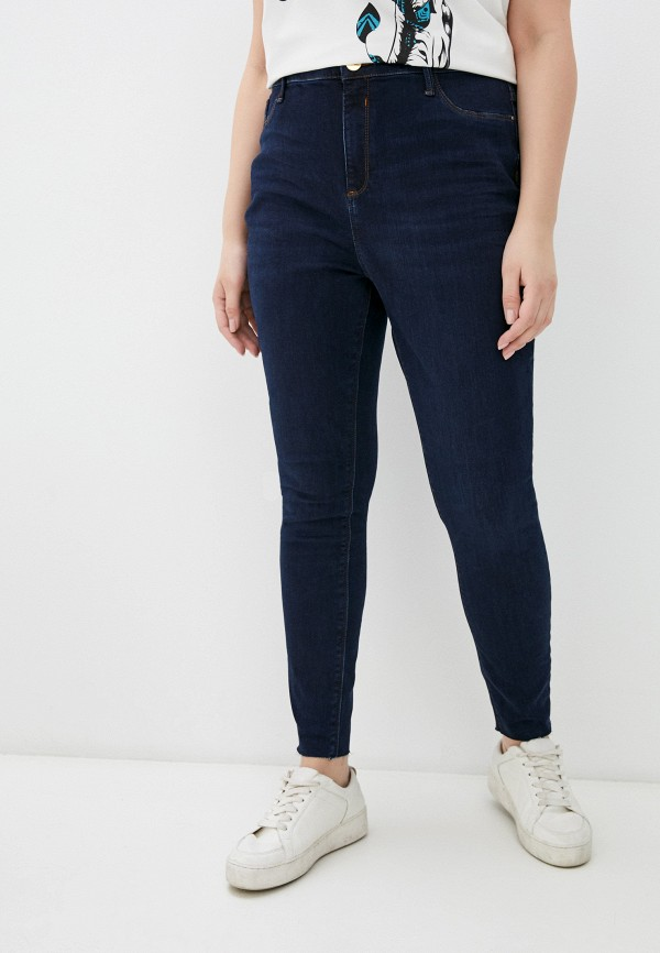 женские джинсы скинни river island, синие