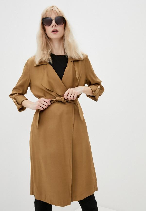 женское пальто liu jo, коричневое