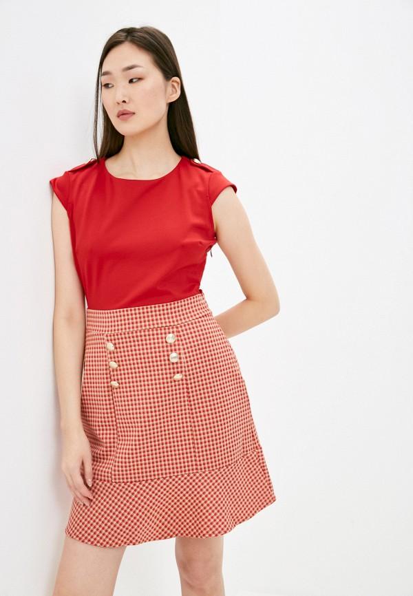 женское повседневные платье liu jo, красное
