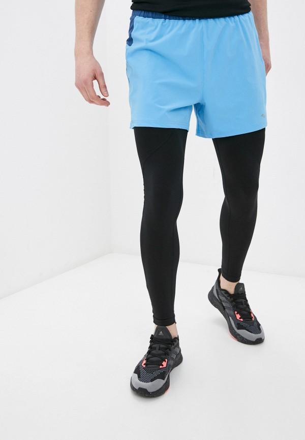 мужские спортивные шорты saucony, голубые