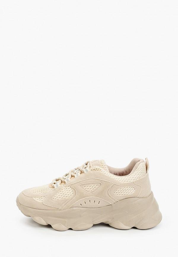 женские кроссовки vivian royal, бежевые