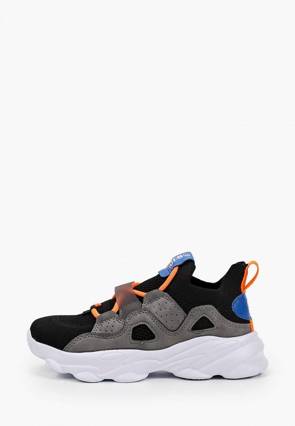 кроссовки kakadu для мальчика, черные