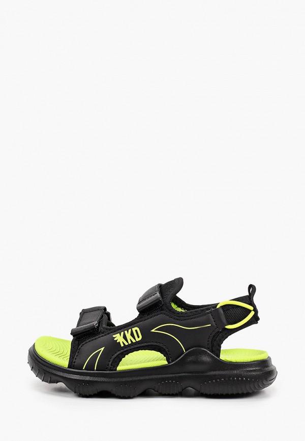 сандалии kakadu для мальчика, черные