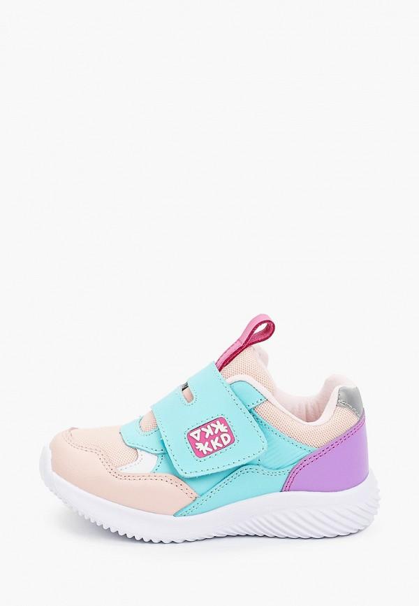 кроссовки kakadu для девочки, разноцветные
