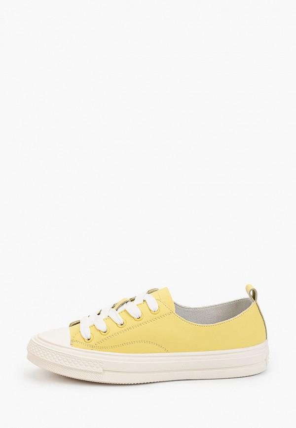 женские кеды tf's, желтые