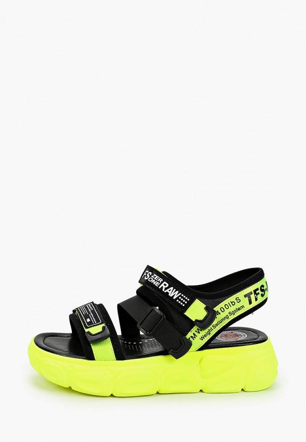 женские сандалии tf's, зеленые