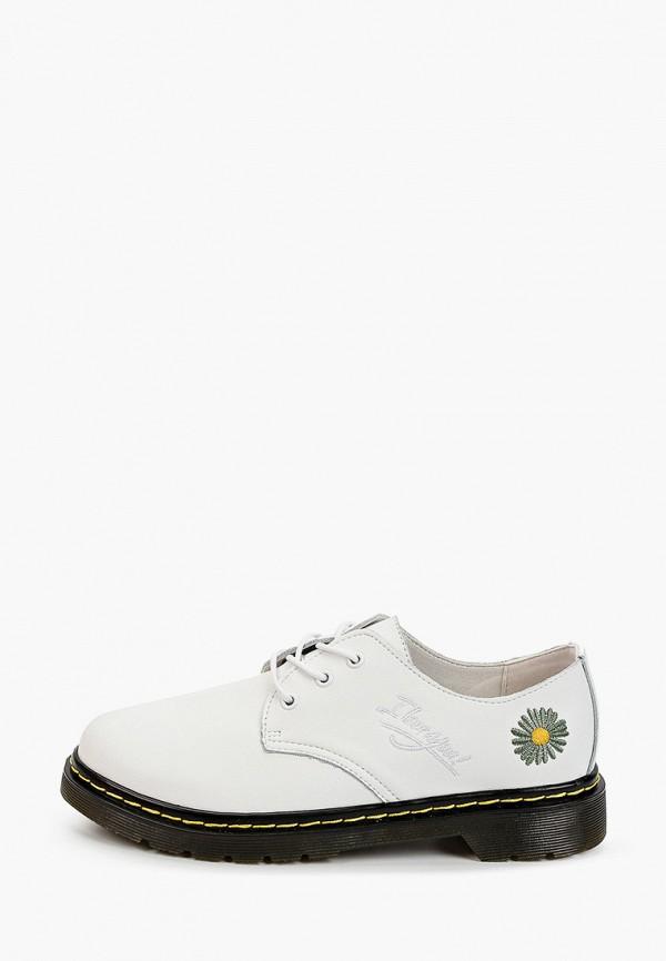 женские ботинки-оксфорды tf's, белые