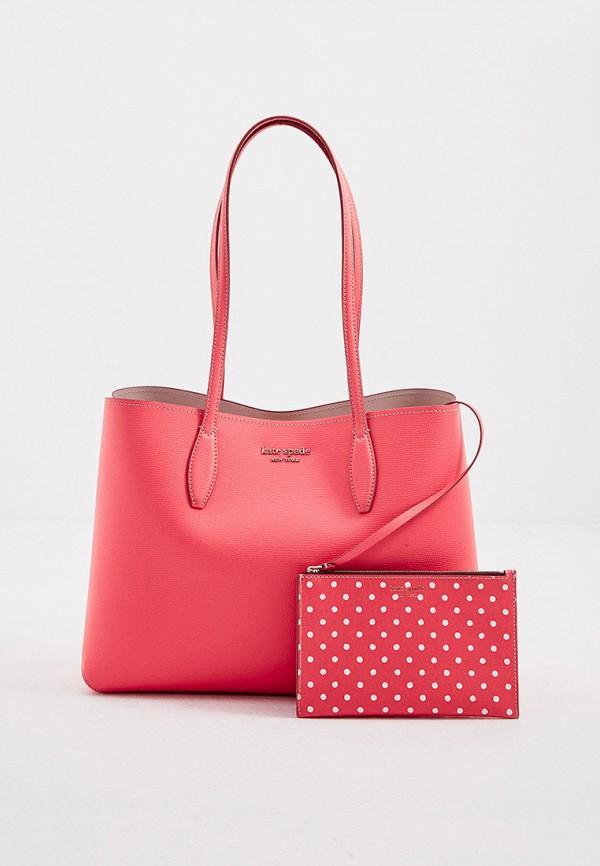 женский кошелёк-шоперы kate spade, розовый