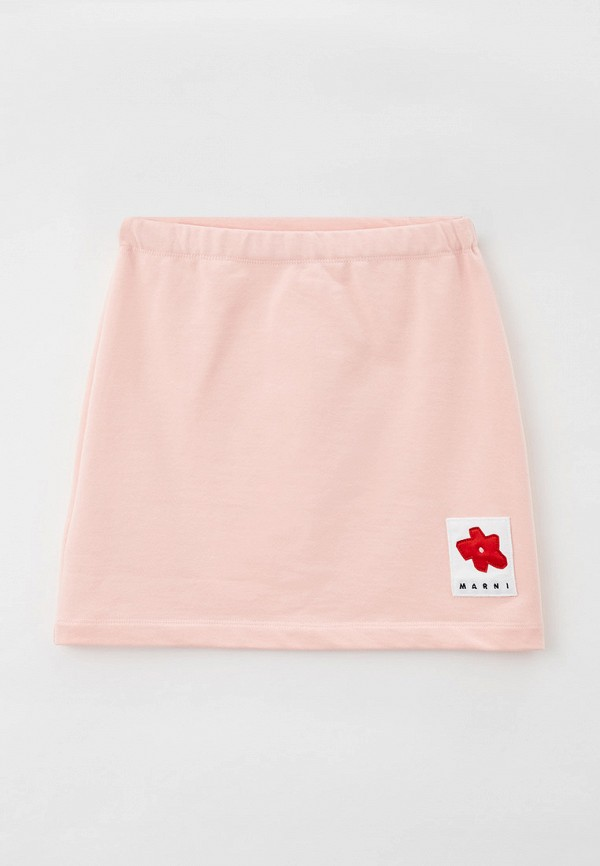 юбка marni для девочки, розовая