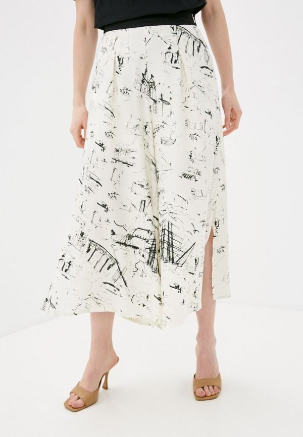 женские брюки bulmer, бежевые