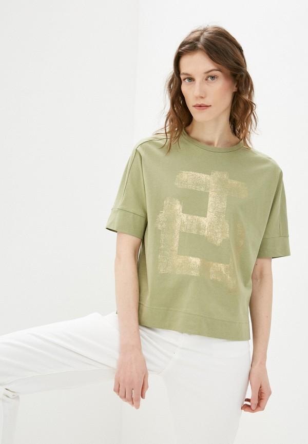 женская футболка bulmer, хаки