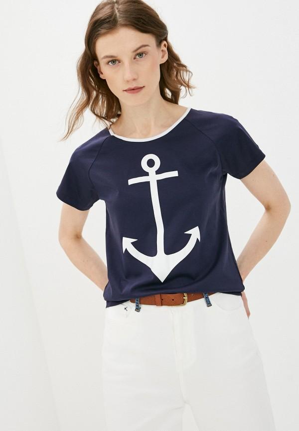 женская футболка bulmer, синяя