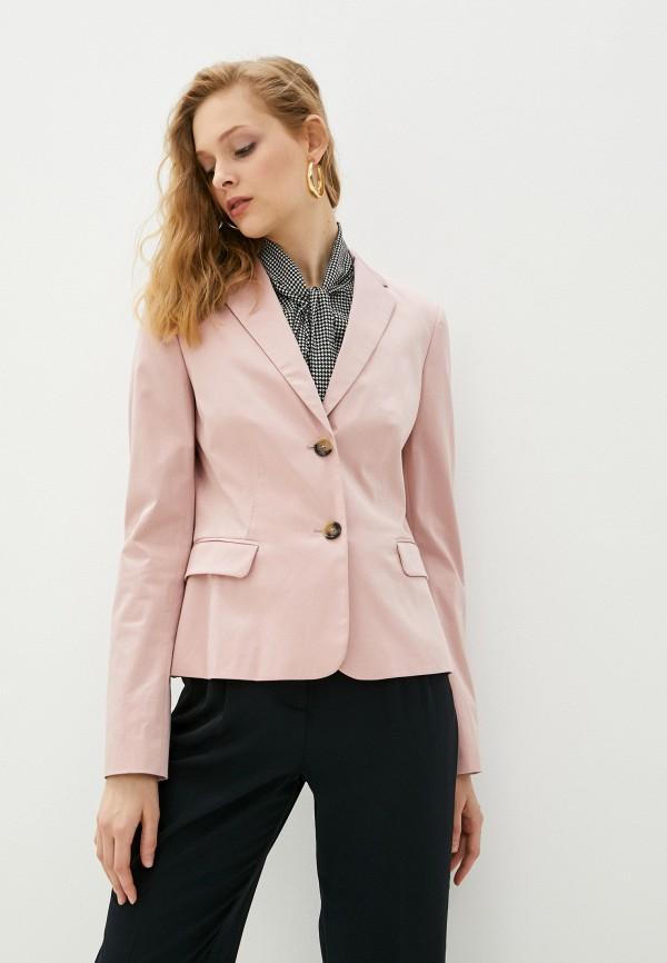 женский пиджак joop!, розовый
