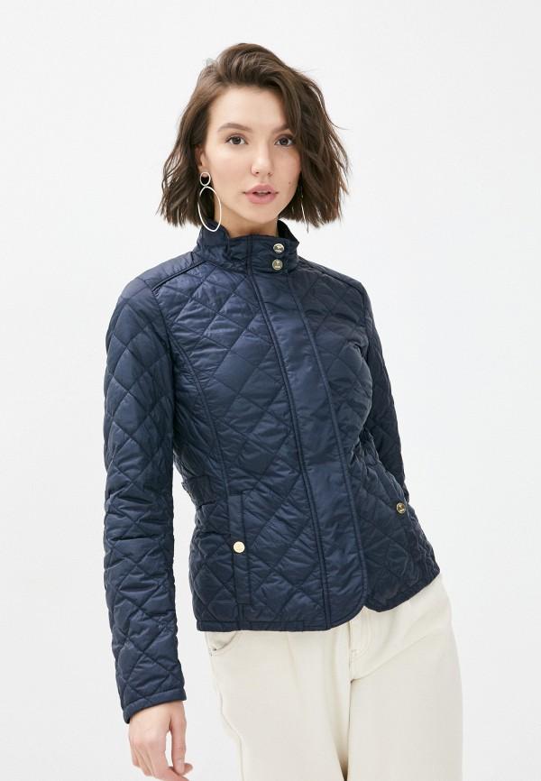 женская утепленные куртка joop!, синяя