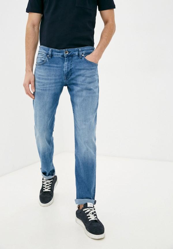 мужские прямые джинсы strellson, голубые