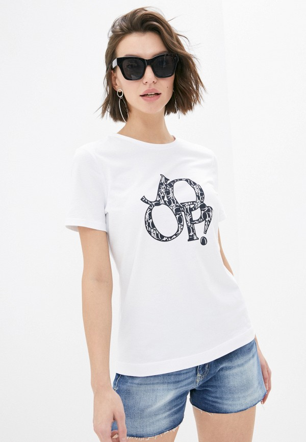 женская футболка joop!, белая