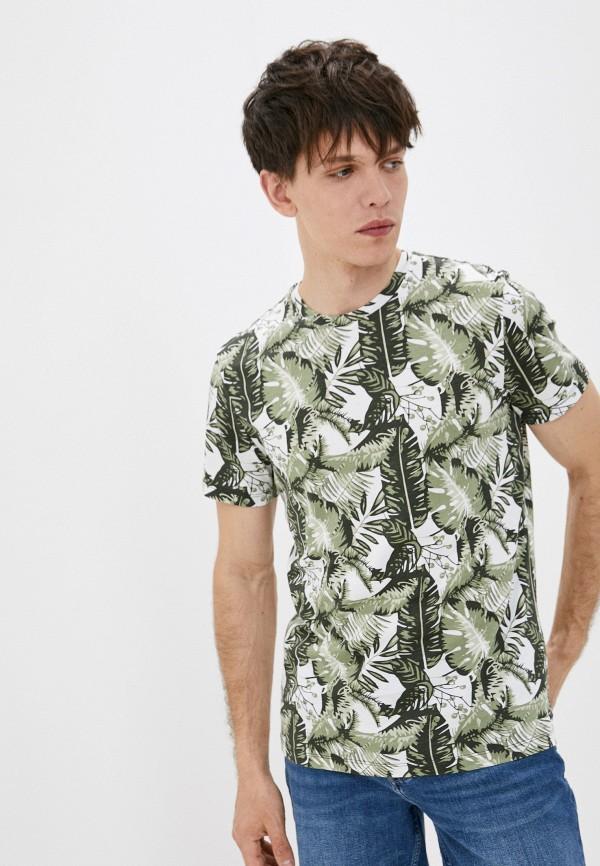 мужская футболка с коротким рукавом strellson, зеленая