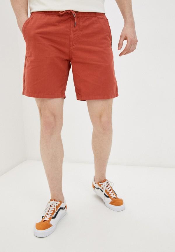 мужские шорты quiksilver, оранжевые