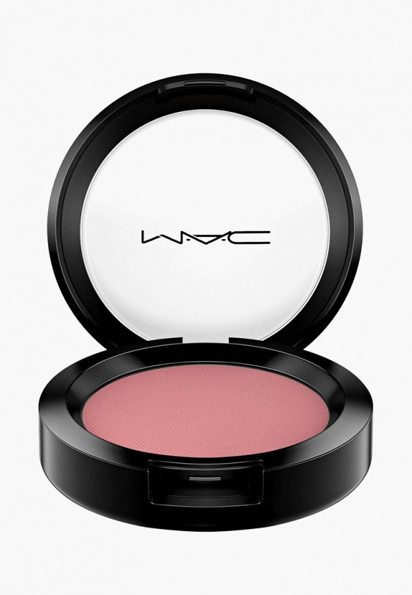 женская румяна mac, розовая