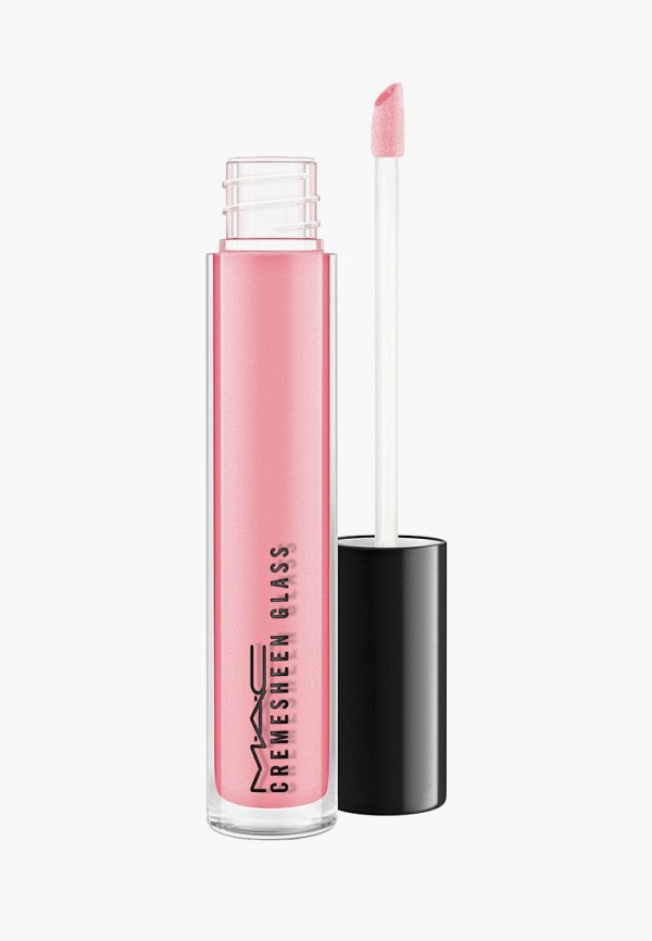 женский блеск для губ mac, розовый