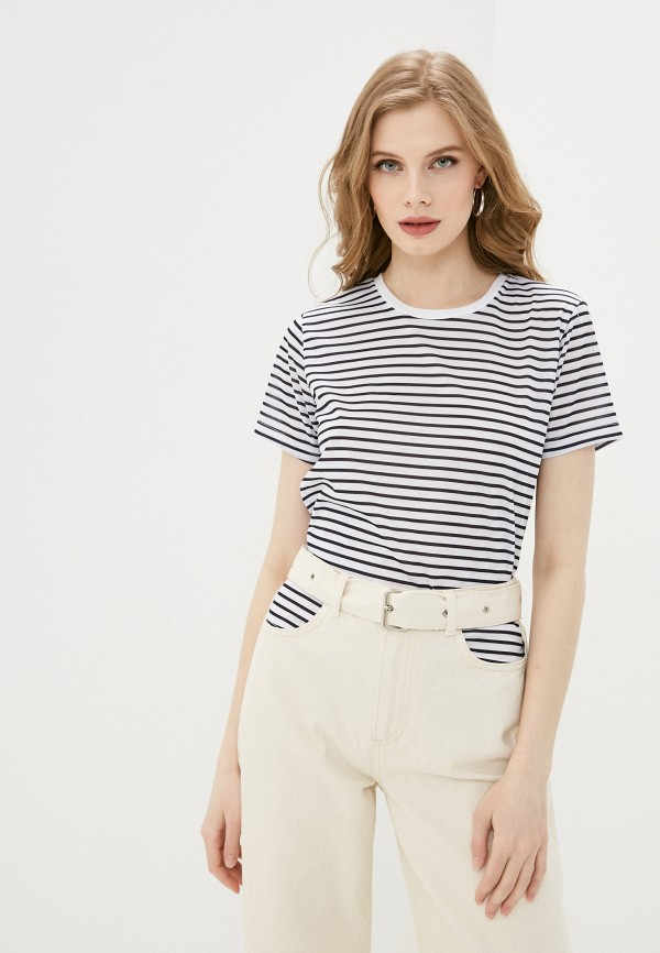 женская футболка trendyol, белая