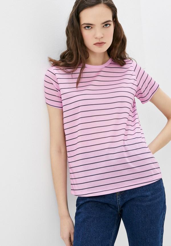 женская футболка trendyol, розовая