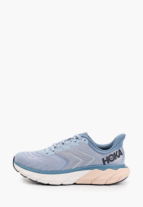 женские низкие кроссовки hoka one one, голубые