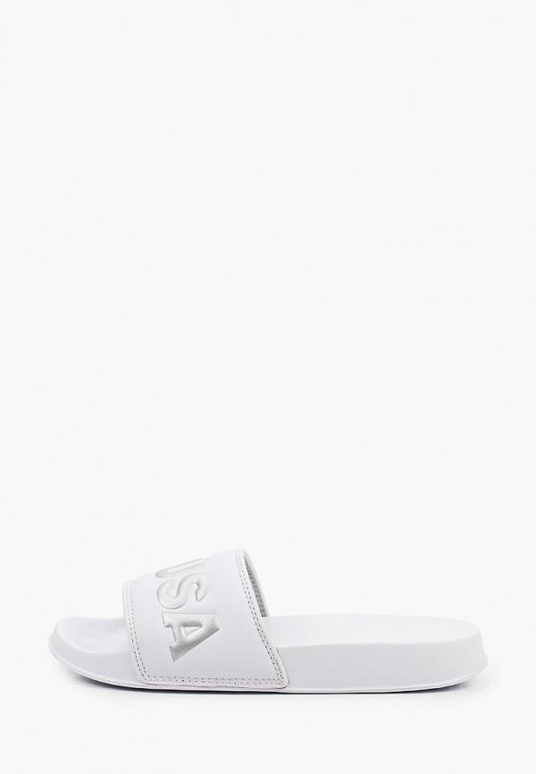 женское сабо dc shoes, белое