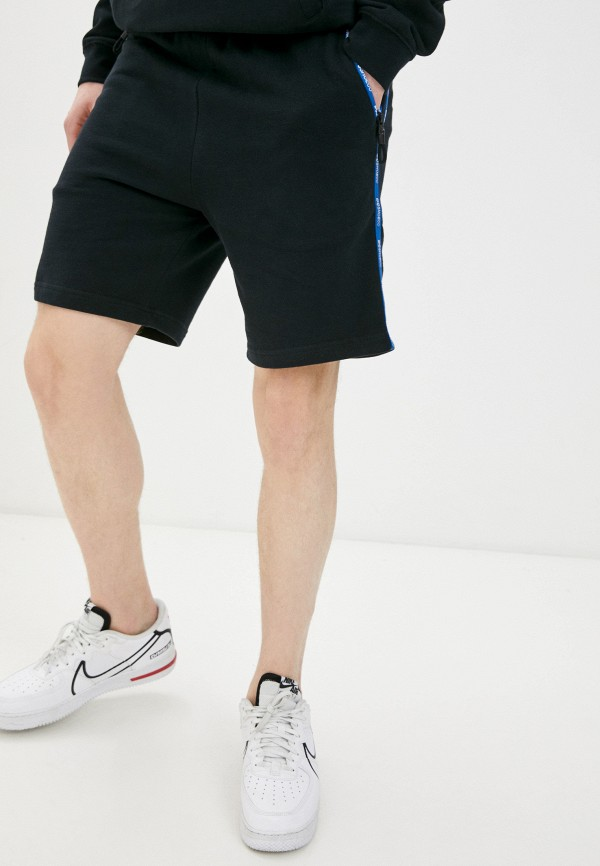 мужские спортивные шорты dc shoes, черные