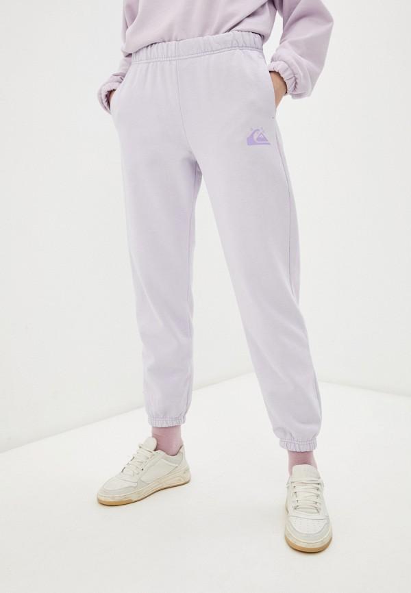 женские спортивные брюки quiksilver, фиолетовые