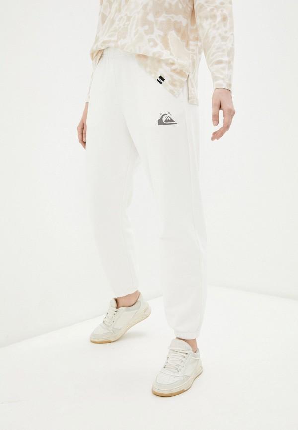 женские спортивные брюки quiksilver, белые