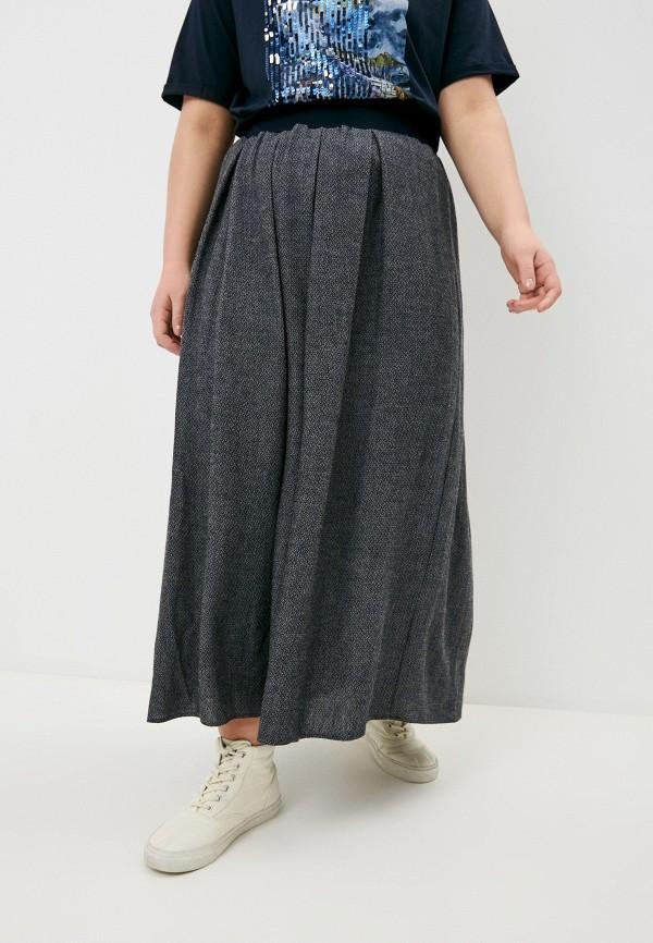 женская юбка elena miro, синяя