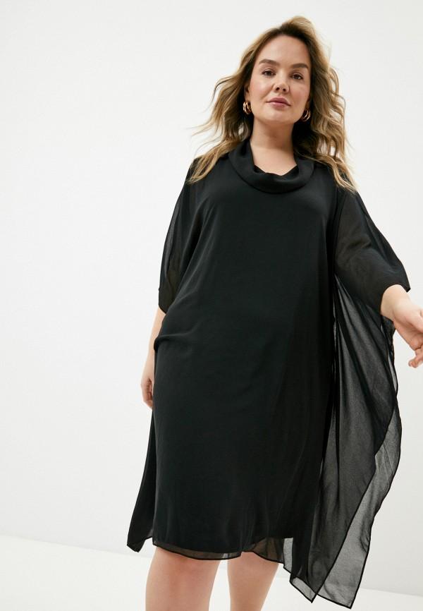 женское повседневные платье elena miro, черное