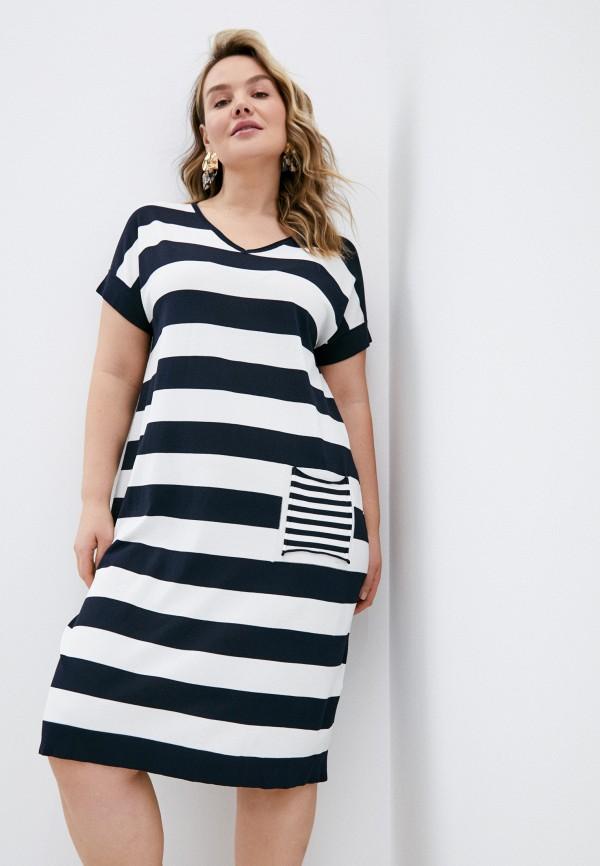 женское повседневные платье elena miro, разноцветное